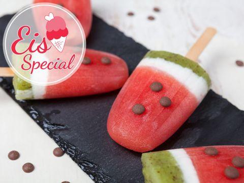 Melonen sind im Sommer noch erfrischender, wenn man dieses Eis daraus macht. Wir haben das Rezept für dich.