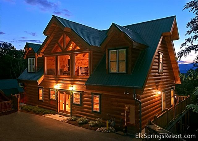 34 best images about gatlinburg vacation rentals on for Large cabin rentals in tennessee