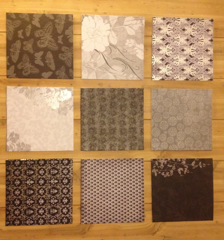 Scrapbook Paper Wall Art: Scrapbook Paper, Paper Wall