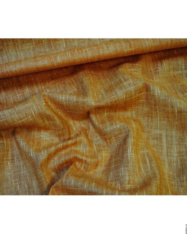 Ткань льняная Конь в яблоко
