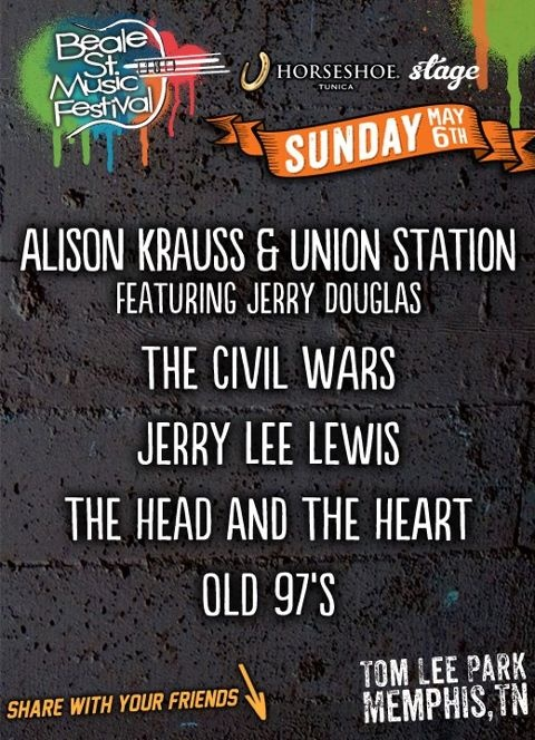 Memphis in May Beale Street Music Festival