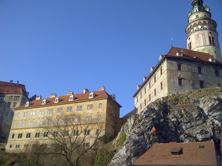 Castillo de Czesky Krumlov