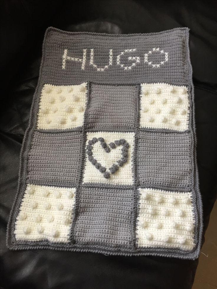 Manta crochet maxicosi Hugo