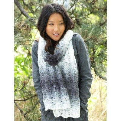 Ripple Scarf Knitting Pattern : 52 best images about Free Scarf Knitting Patterns on Pinterest Red hearts, ...