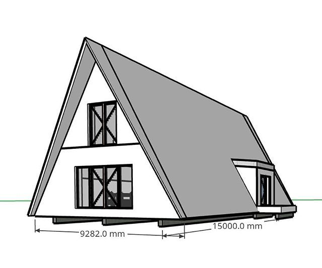 Download Our Free Sketchup Files For All The Models From Www Avrame Com Views And Plans To Start Designing Your Design Your Dream House Kit Homes A Frame House