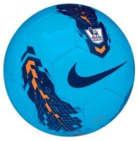 Nike League Pitch Premier League Soccer Ball - Blue/Orange