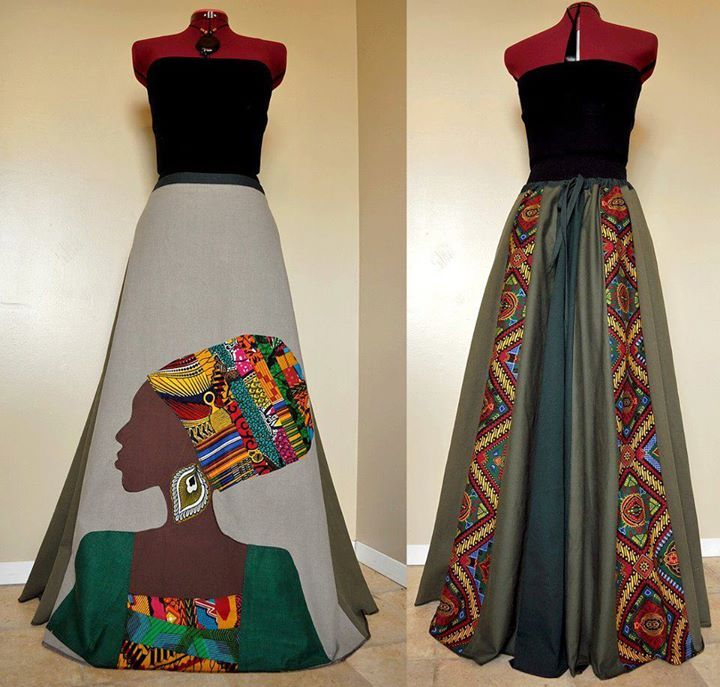 African dress skirt woman illustration ~Latest African Fashion, African Prints, African fashion styles, African clothing, Nigerian style, Ghanaian fashion, African women dresses, African Bags, African shoes, Nigerian fashion, Ankara, Kitenge, Aso okè, Kenté, brocade. ~DKK