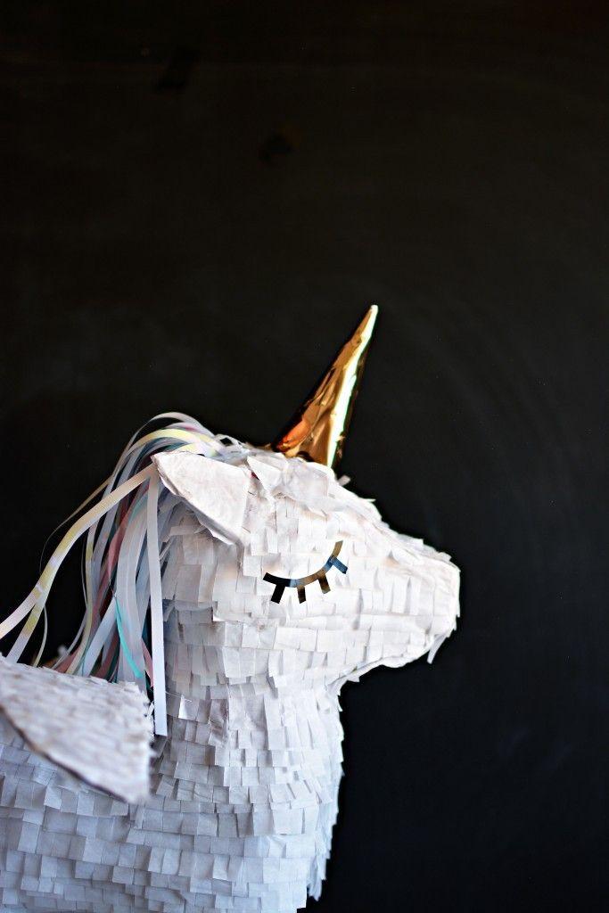 how to make your own unicorn pinata