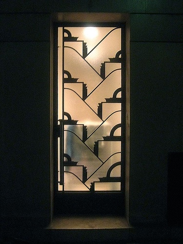 recreate in frosted sticker for glass door