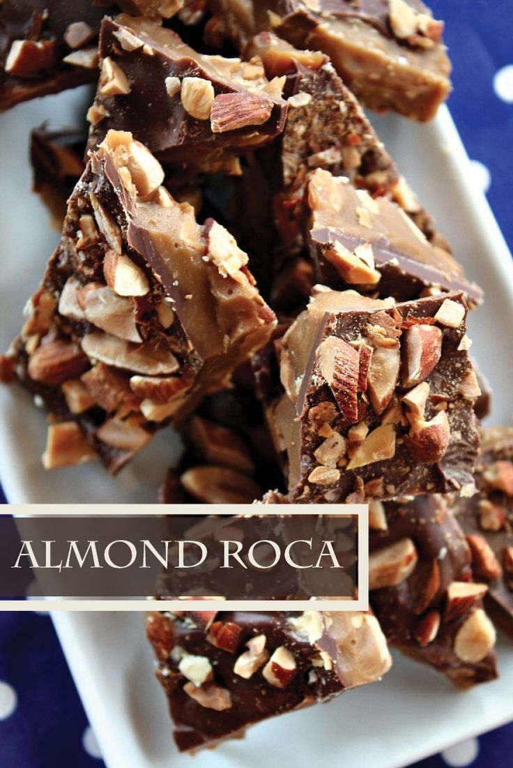 Almond Roca Recipe – Check out all the tips and tricks there are to making this yummy DIY candy recipe here.  Be sure to give a box of these as a gift when you go to holiday parties!