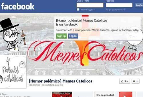 Facebook repone Memes Católicos