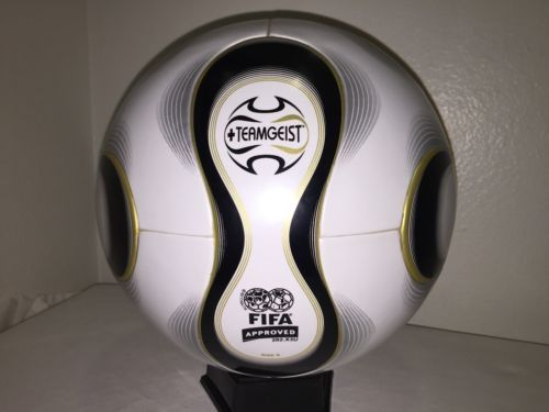 #Adidas world cup 2006 germany #teamgeist match #soccer ball size 5,  View more on the LINK: 	http://www.zeppy.io/product/gb/2/172028962642/