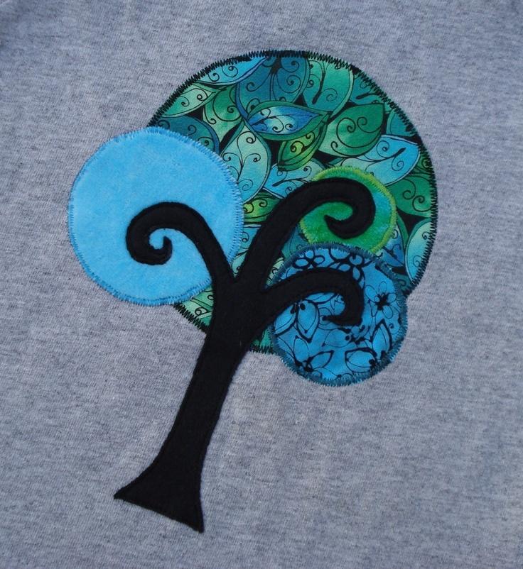 applique tree idea