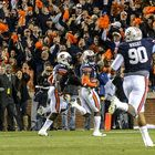 Chris Davis was on the field, but not in position to return a missed field goal for a touchdown. A timeout and a shift by Auburn's coaches changed all that to set up one of the greatest plays in Iron Bowl history.