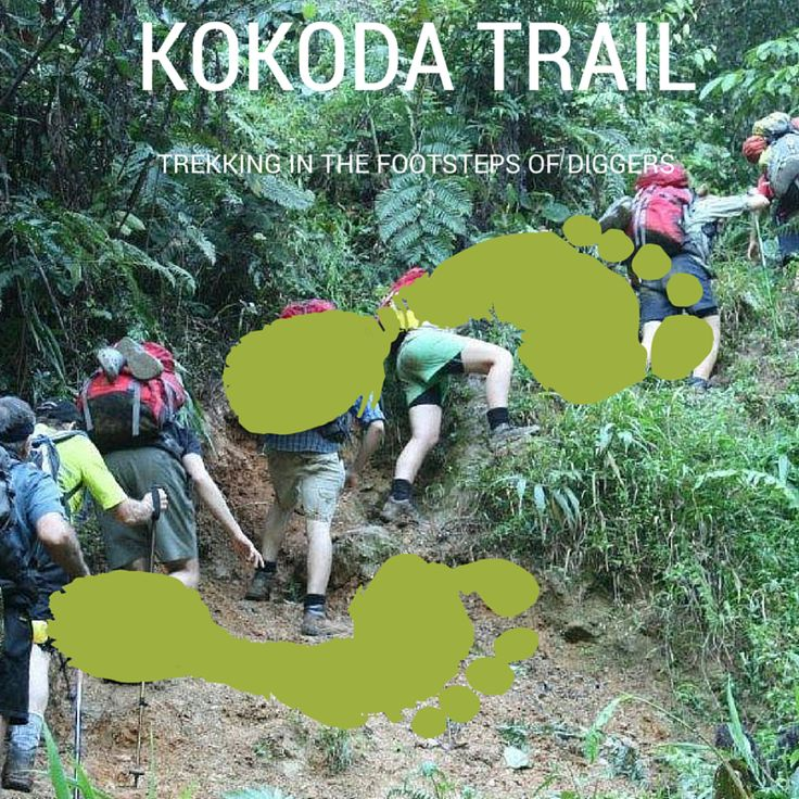 Kokoda Trail Following in the footsteps of diggers.