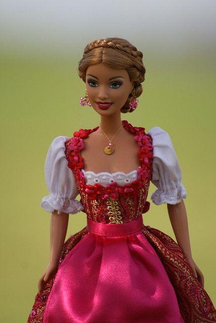 Barbie Special Edition Oktoberfest 2009 by Bavarian Dolls, via Flickr