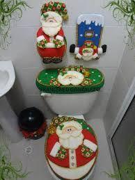 Resultado de imagen para cubre baños navideños