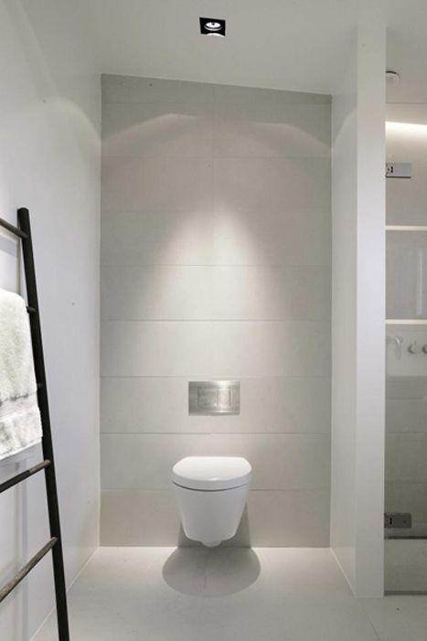 Deco wc blanc moderne oui la d co harpic ba os for Deco banos modernos