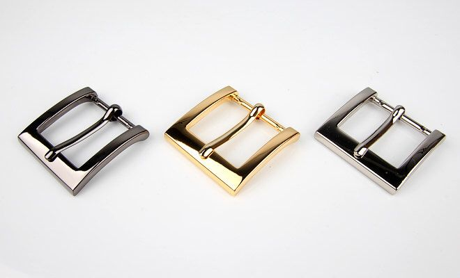 A personal favorite from my Etsy shop https://www.etsy.com/listing/233099838/plated-metal-belt-small-buckles-for-bags