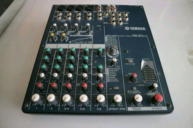 Mixer Yamaha MG82cx mulus jakarta timur - 081291262626