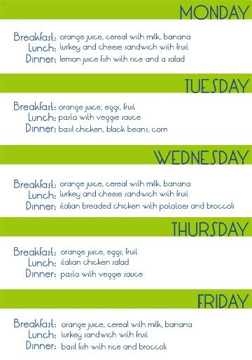 Healthy eating on a college budget yumm. I always pin and write down meal plans but I think this is actually doable.