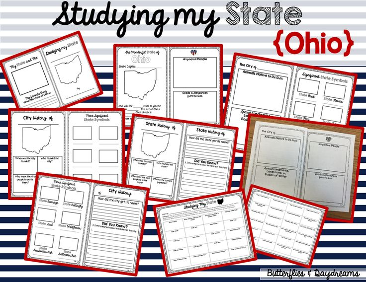 State History Research Project {Ohio}