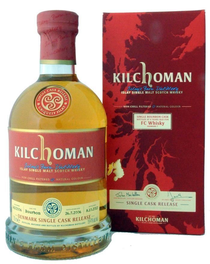 Kilchoman 2006/2012 Single Cask FC Whisky Denmark 7 Islay 59,7%