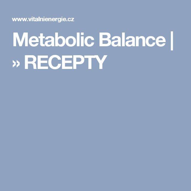 Metabolic Balance | » RECEPTY