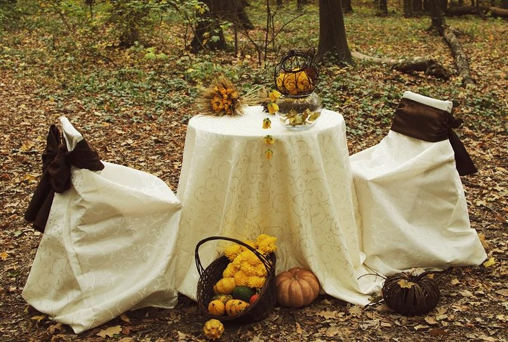 Autumn decorations, ttd.  by Purple Effect Events