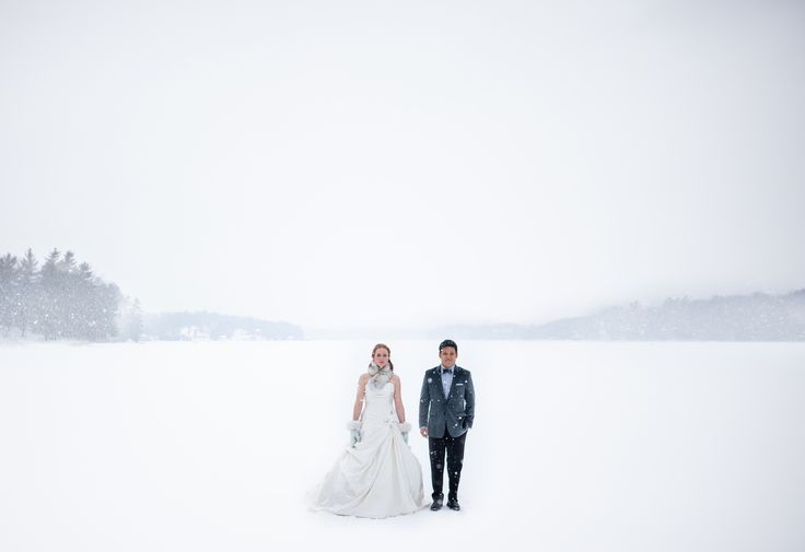Brave Bride. Fabulous winter wedding
