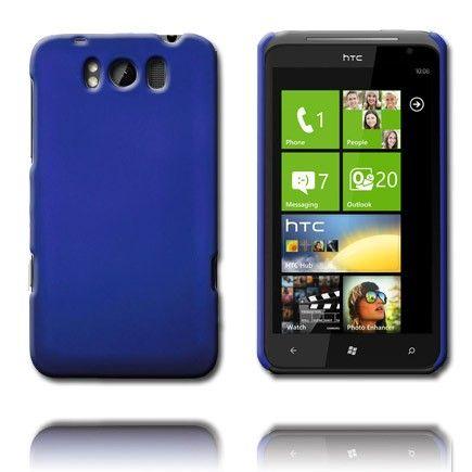 Hard Shell (Blå) HTC Titan Cover