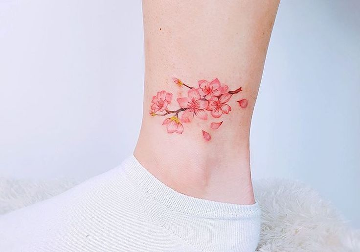 small flower tattoos t ng h nh x m pinterest watercolor flower and tattoo. Black Bedroom Furniture Sets. Home Design Ideas