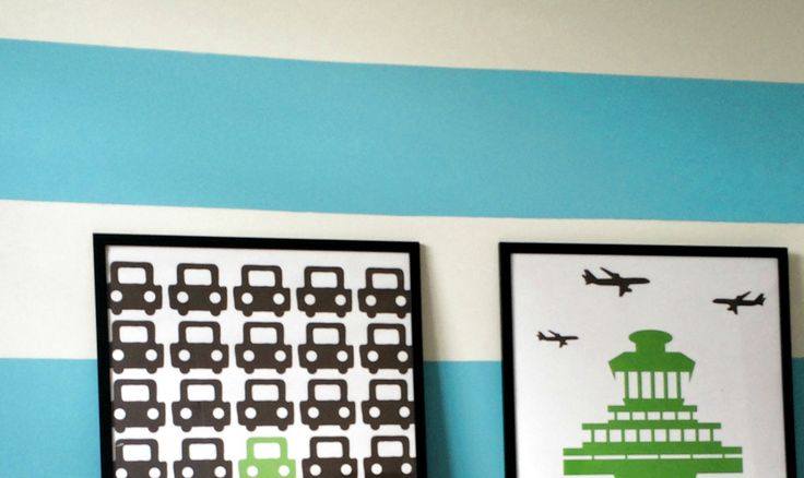 How to paint wall stripes (from somebody who failed the first time)