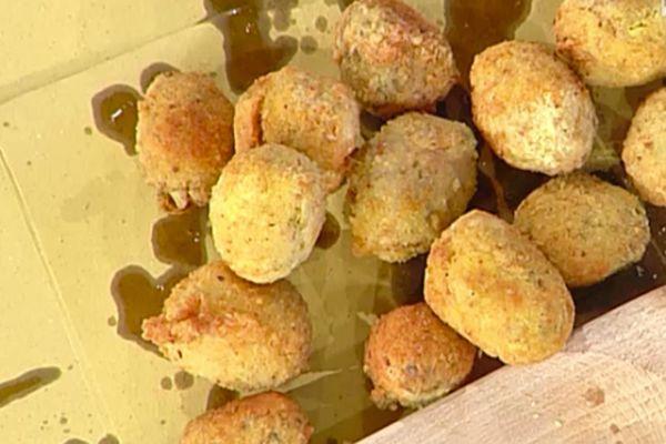 Ricetta Olive alla nonna papera (finte olive ascolane) - Anna Moroni