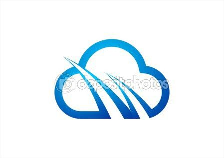 Cloud computing icon vector logo design template.Blue Cloud Sign,Internet Connection cloud logo - #cloud #computing #icon #vector #logo #design #template #blue #sign #internet #connect #symbol http://depositphotos.com?ref=3904401