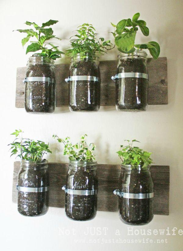 Indoor Herb Garden Ideas - Creative Juice   @Mindy Burton CREATIVE JUICE   @getcreativejuice.com