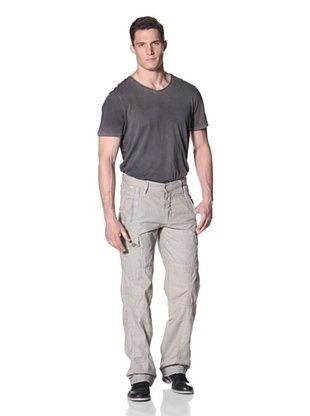 Desigual Men's Railroad Stripe Cargo Pants