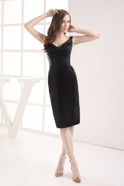 Sheath/Column Little Black Dresses OCCASION DRESSES