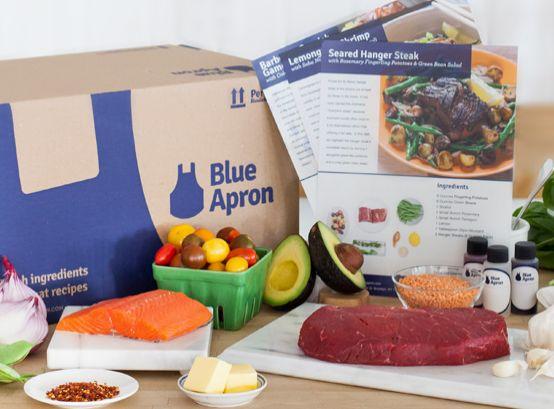Blue Apron On Sale at Rue La La!