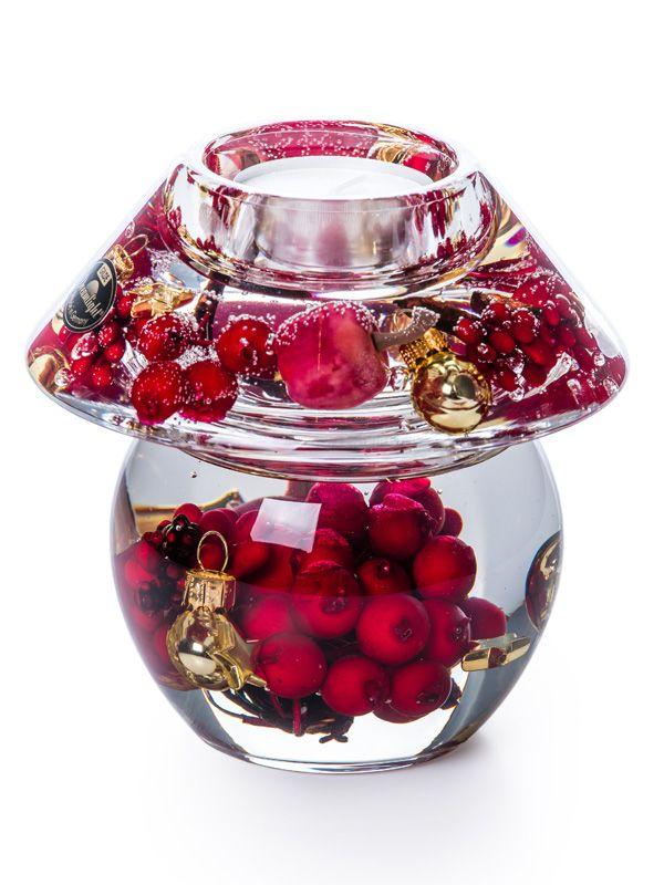 Подсвечник «Рождественские ягоды»
