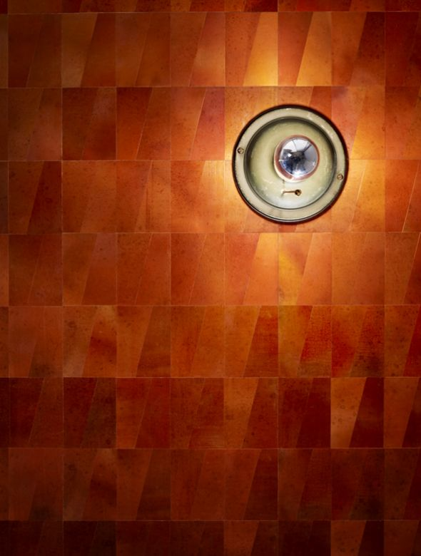 Copper Wall Covering : Best images about maya romanoff on pinterest wool