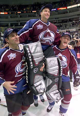 According to rumors Patrick Roy is the new head coach of the Colorado Avalanche. Always worn the A with pride, but this just makes being an Avalanche fan that much better.