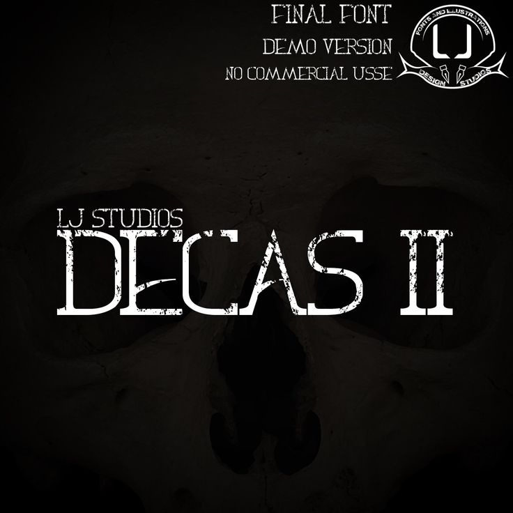 Portada FinalCover DECAS PROJECT 2015 Final Font Demo Version