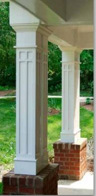 144 best house stuff exterior trim images on pinterest for Permacast columns pricing