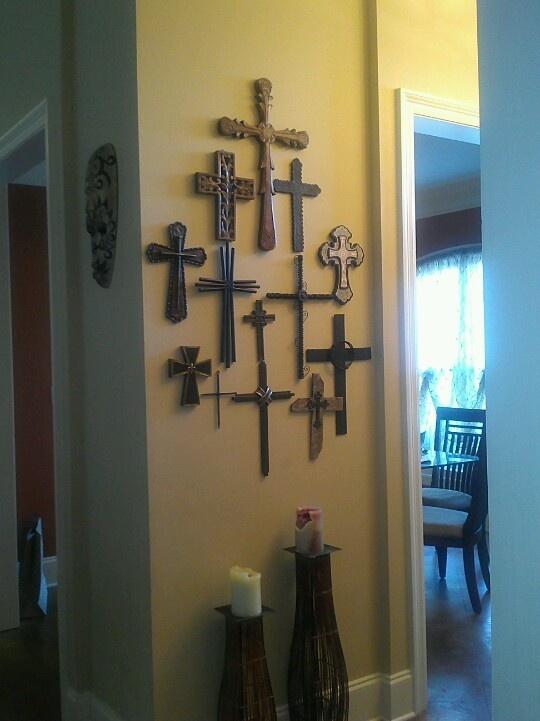 My cross wall