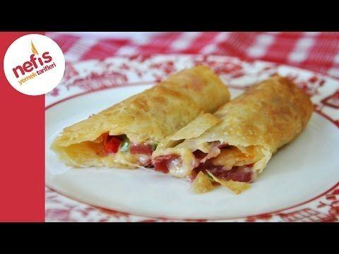Paçanga Böreği Nasıl Yapılır? Videolu Anlatımı - Nefis Yemek Tarifleri