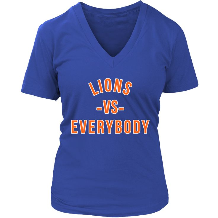 LIONS VS Everybody (Lincoln University-PA inspired)