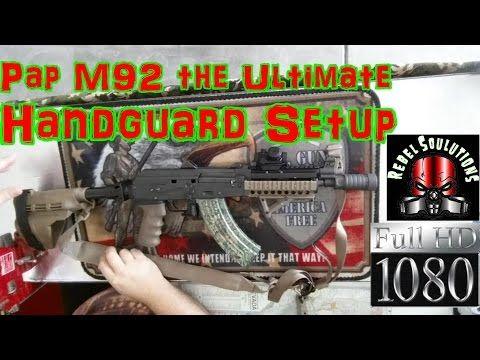 Zastava M92 PAP AK47 Krink Pistol  7.62x39mm Handguard Options - http://fotar15.com/zastava-m92-pap-ak47-krink-pistol-7-62x39mm-handguard-options/