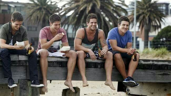 Kyle, Casey, Heath and Brax