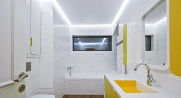Design spectaculos pentru baia unui apartament din Bucuresti | Povestea Casei